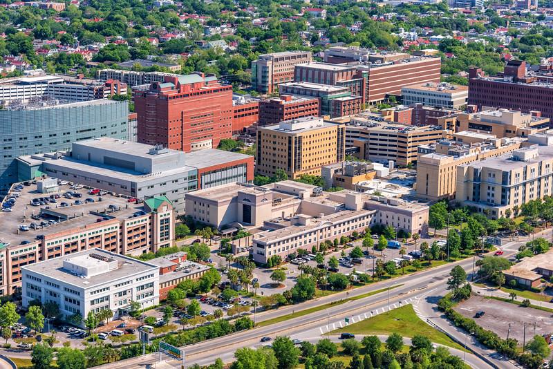Charleston's Downtown Hospitals, Calhoun Street