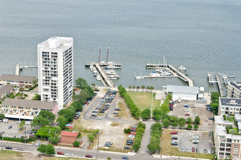 Dockside Condominiums and the Charleston Maritime Center