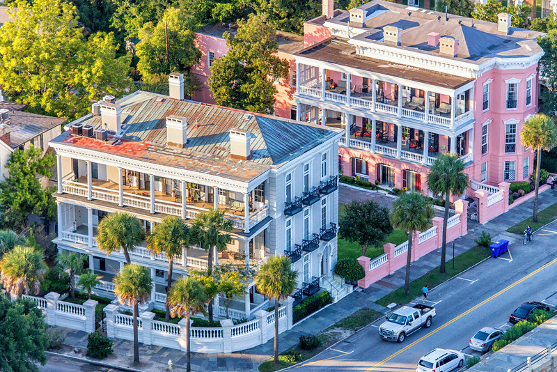 Historic Mansions, South Battery and Murray Boulevard