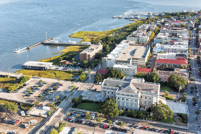 Concord Street and Waterfront Park
