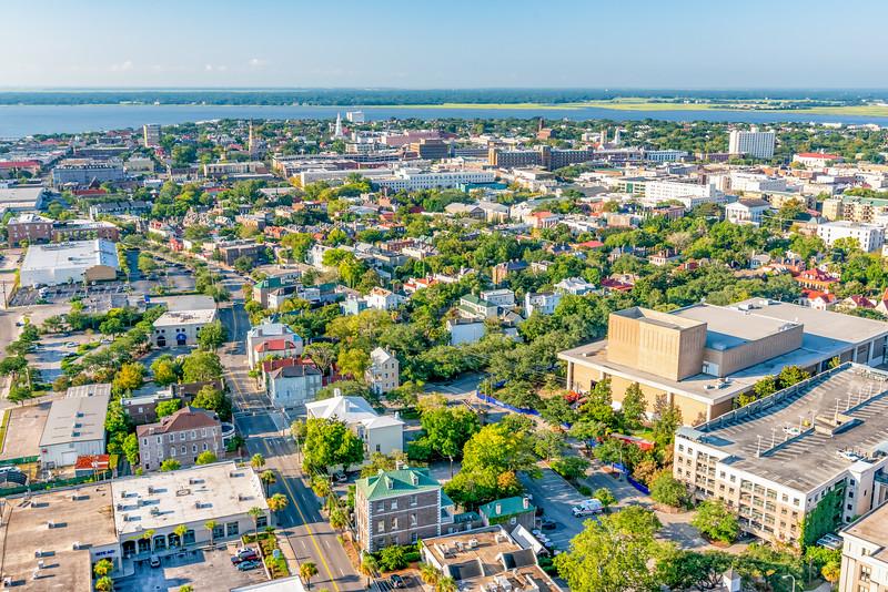 View of Ansonborough and Downtown Charleston