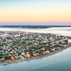 Charleston Peninsula at Twilight