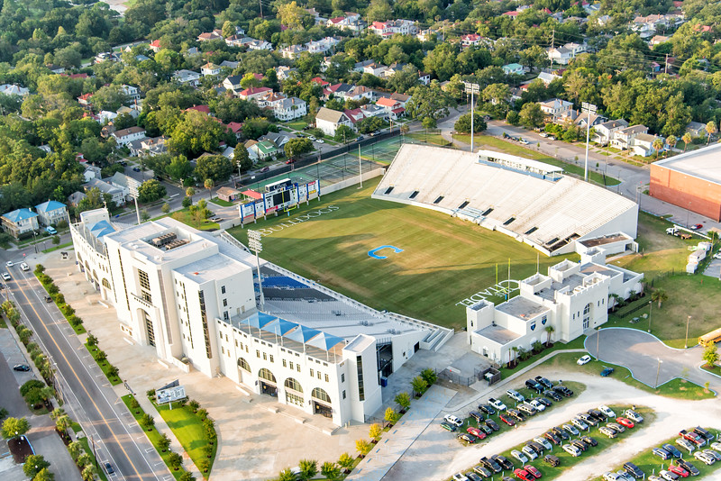 Johnson Hagood Stadium, home of the Citadel Bulldogs
