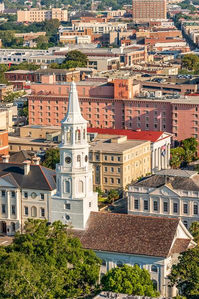 St. Michael's Church steeple, Broad Street