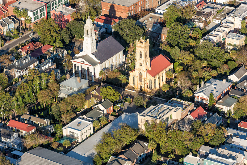 Churches on Archdale Street, Charleston SC