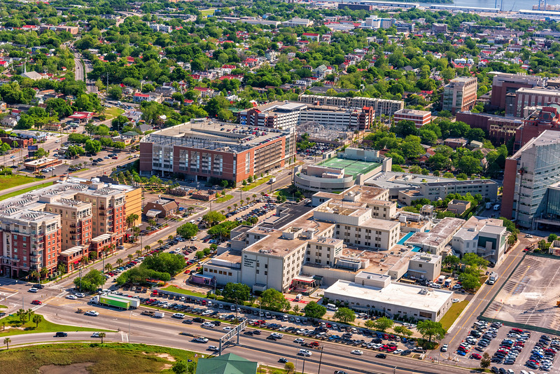 VA Hospital, MUSC and Bee Street