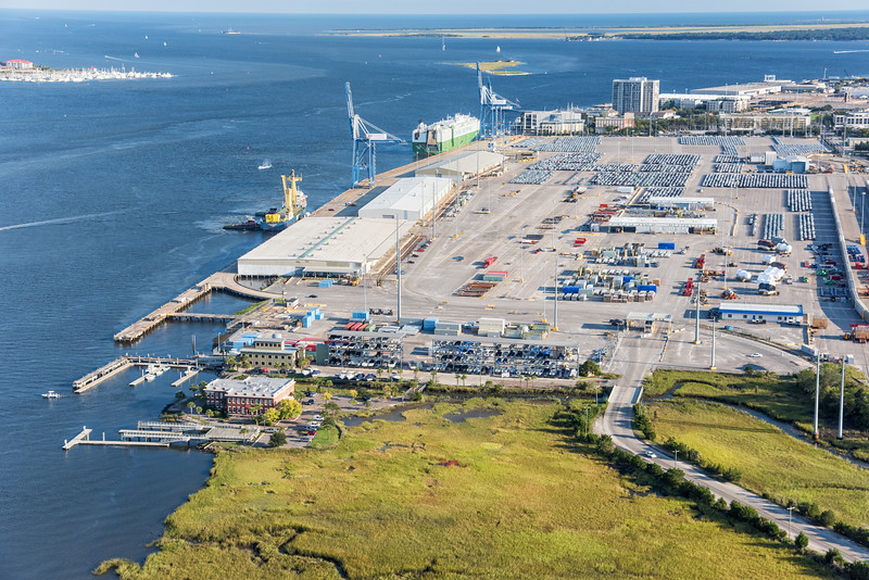 SC Ports Authority Shipping Terminal, Cooper River