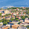 Downtown Charleston and the Carolina Yacht Club