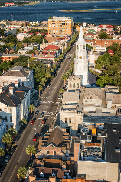Broad Street and the Four Corners of Law, Charleston, SC