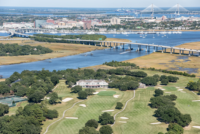 Country Club of Charleston clubhouse
