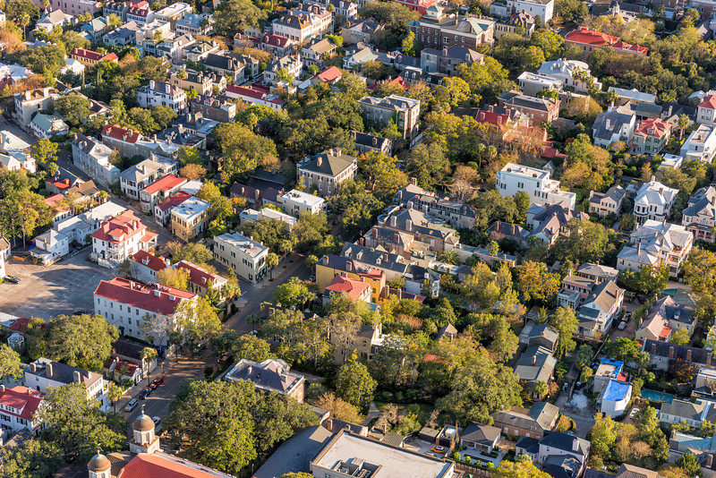 Meeting Street and Downtown Homes, Charleston