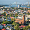 Cathedral of St. John the Baptist and the City of Charleston
