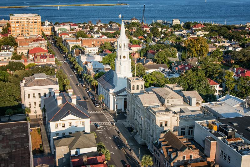 Historic St. Michael's Episcopal Church, Broad Street, Charleston