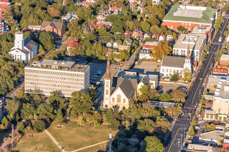 Marion Square, Dewberry, & Citadel Square Baptist Church