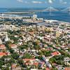 Downtown Charleston and the Arthur Ravenel Bridge