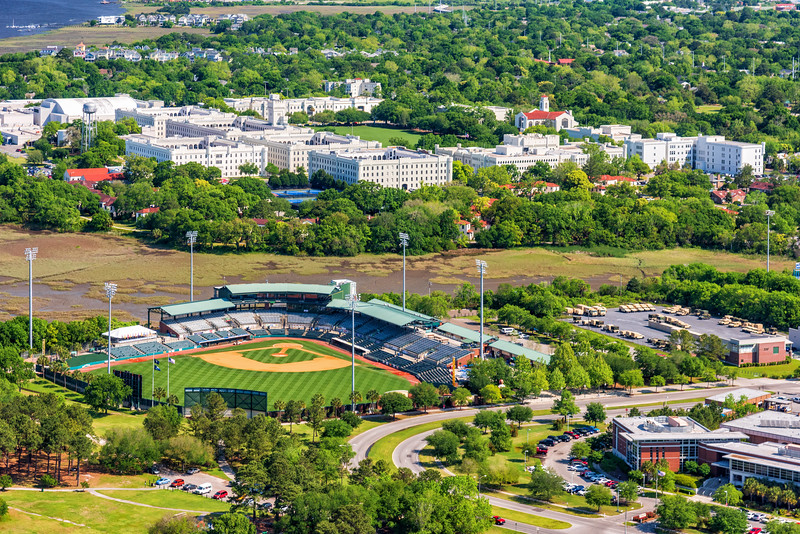 Joe Riley Baseball Stadium and the Citadel Military College