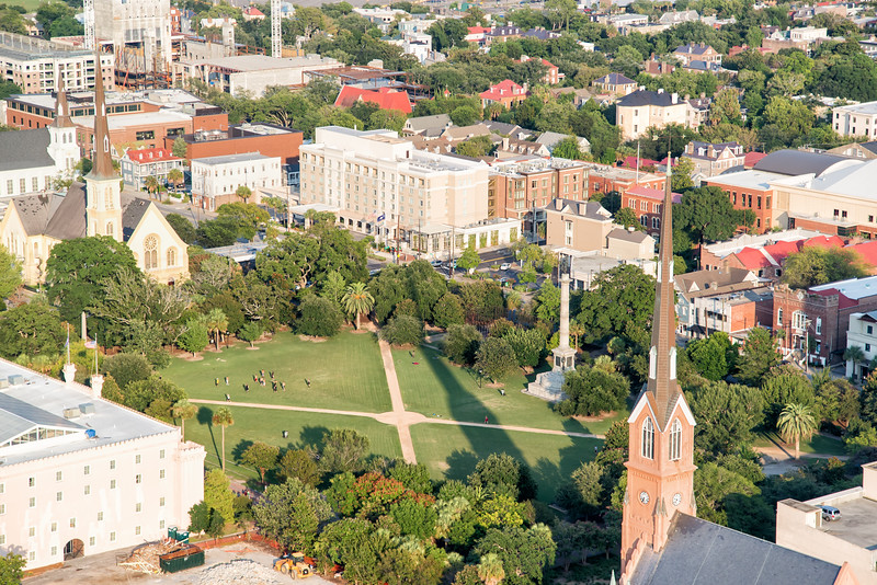 Marion Square and St. Matthew's Lutheran Church