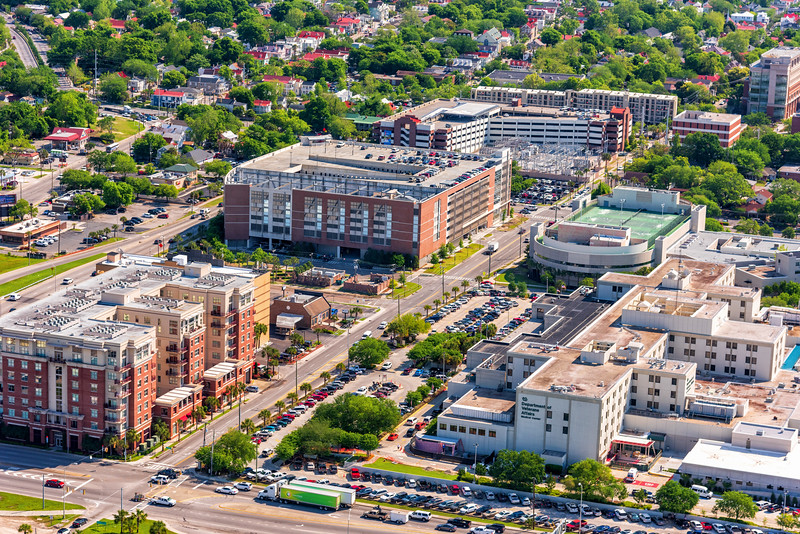 MUSC Wellness Center, Crosstown, and Bee Streets