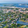 Colonial Lake and downtown Charleston