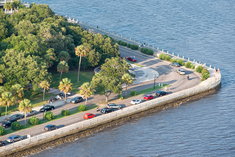 Charleston's historic Battery