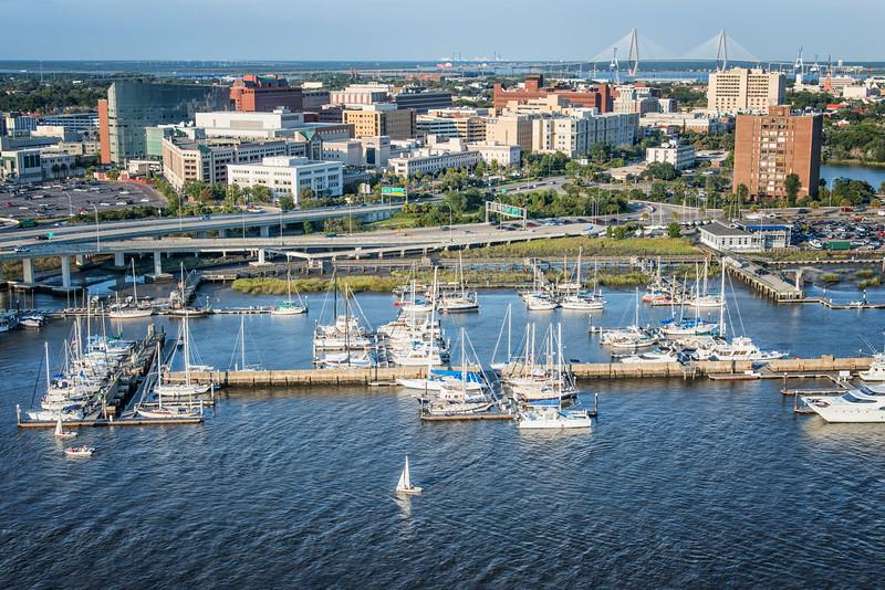 Charleston City Marina, Lockwood Boulevard