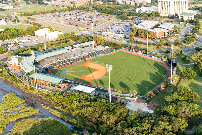 Joe Riley Baseball Stadium, home of the Riverdogs