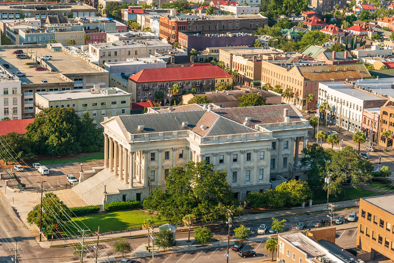 Market Street view of the US Customs House