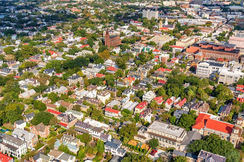 King Street and historic Charleston homes