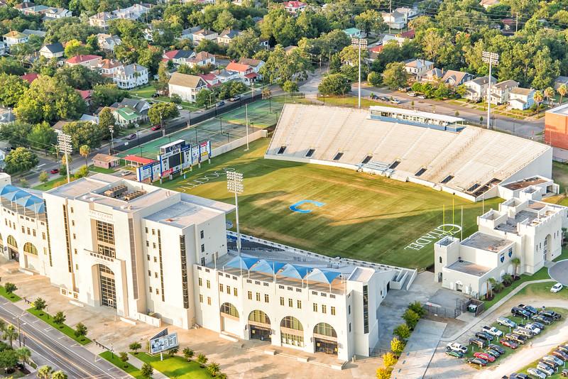 Johnson Hagood Stadium, home of the Citadel Bulldogs