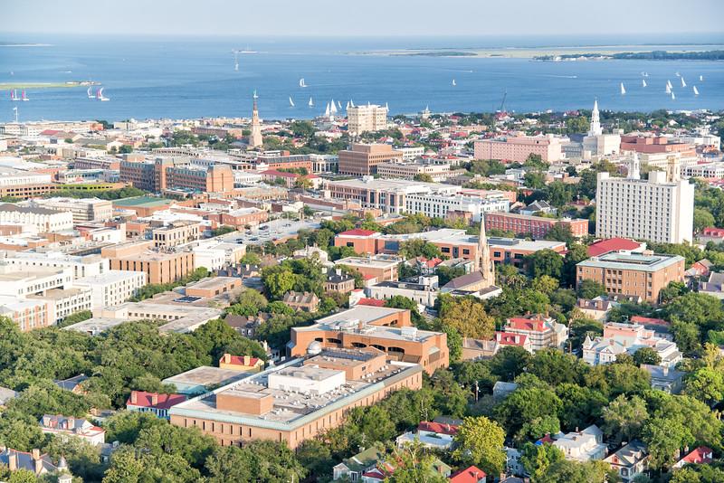 Downtown historic Charleston