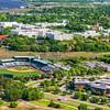 The Citadel and the Joe Riley Baseball Stadium