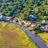 Homes and Docks on Coburg Creek