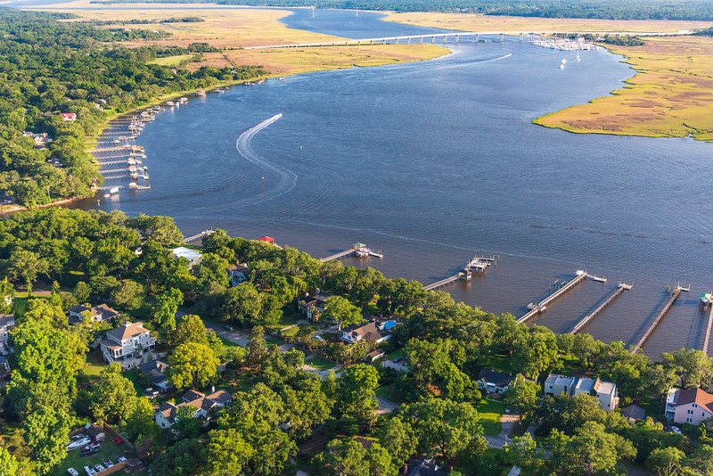 Riverland Terrace, Edgewater Island & The Stono River