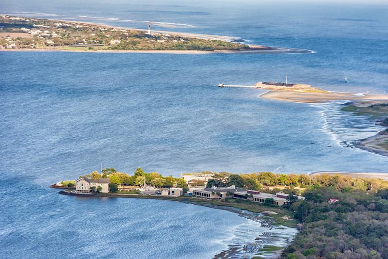 SCDNR James Island, sullivan's Island, and Fort Sumter
