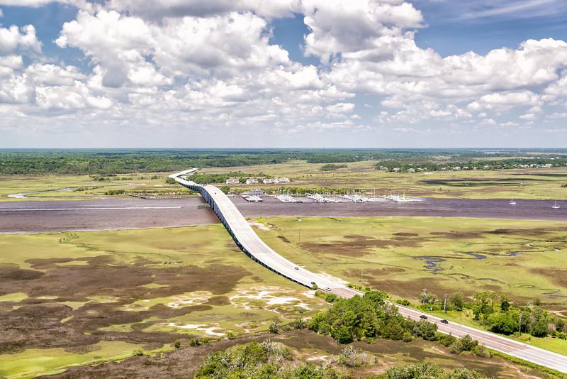 Maybank Highway and Headquarters Island