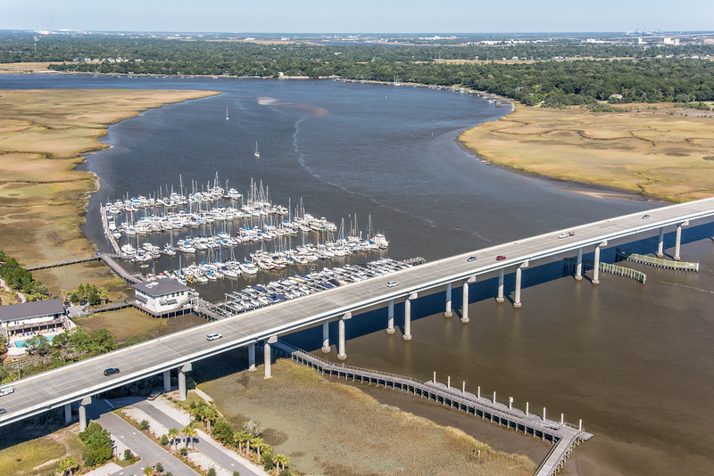Paul Gelegotis Bridge over the Stono River, Charleston SC