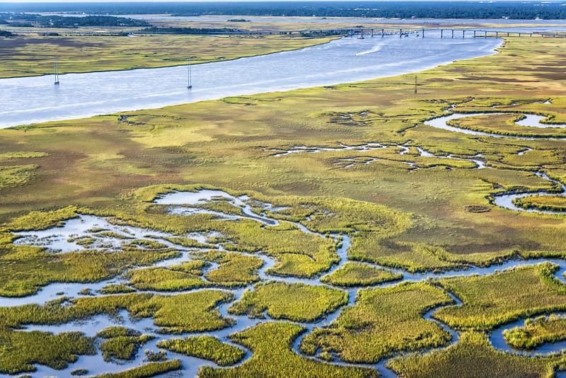 James Island, Stono River and the Stono Bridge