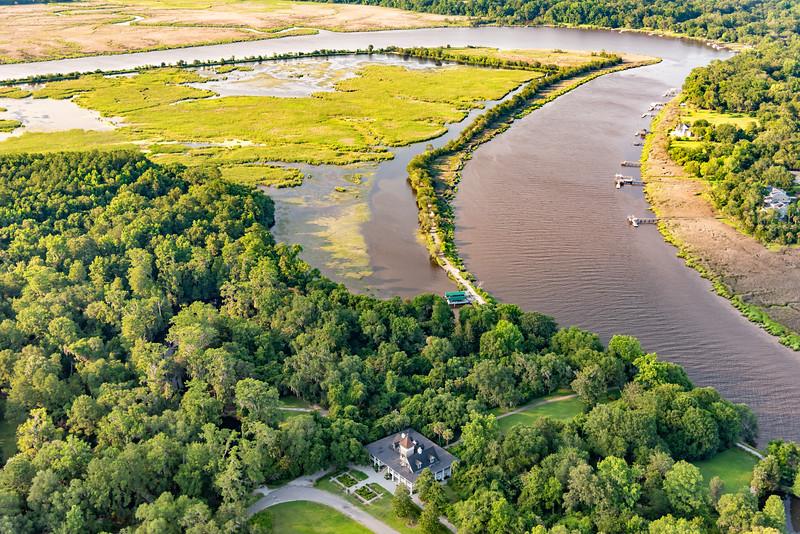 Magnolia Plantation and the Ashley River