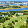 Country Club of Charleston with ICW and the city