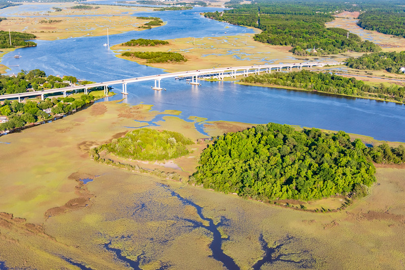 Site of the new Stono River County Park