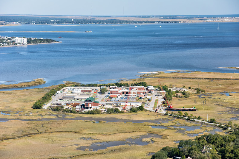 Plum Island waste water treatment plant, Charleston, SC