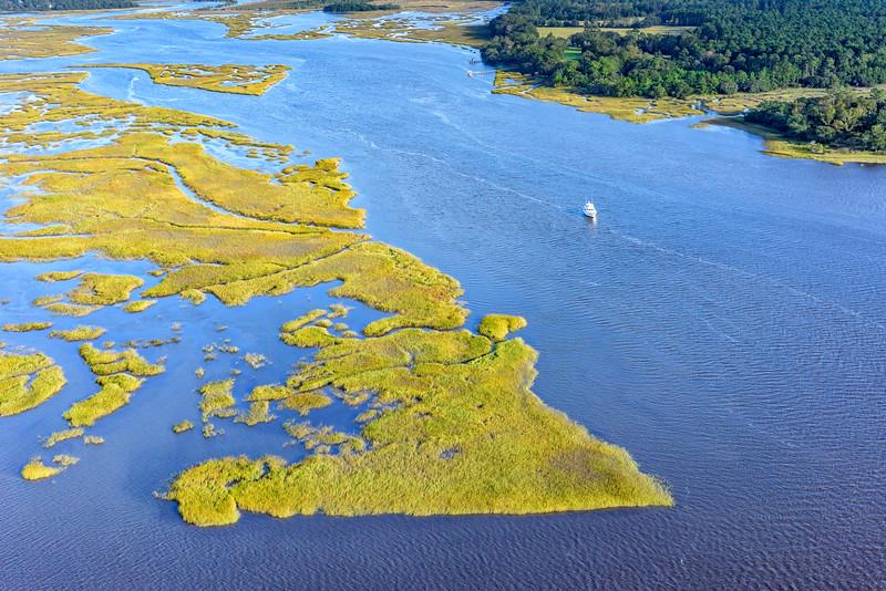 Wadmalaw River, Johns Island and Wadmalaw