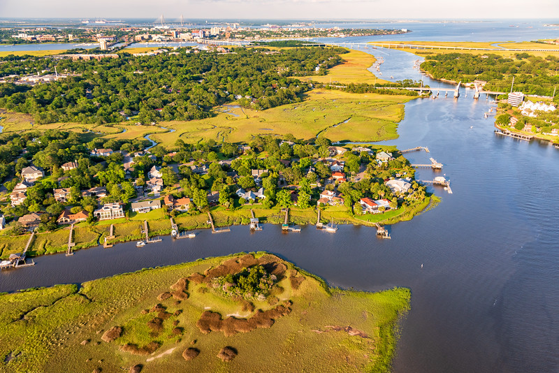 Coburg Creek and the IntraCoastal Waterway