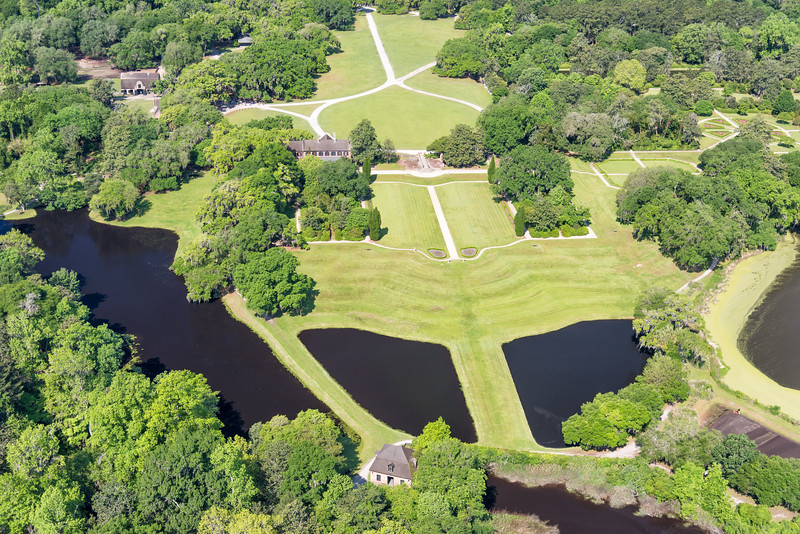 Middleton Place grounds and Butterfly Ponds