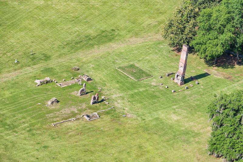 Runnymede Plantation ruins