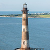 Morris Island Lighthouse and east end of Folly Beach