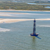 Morris Island Lighthouse and Folly Island