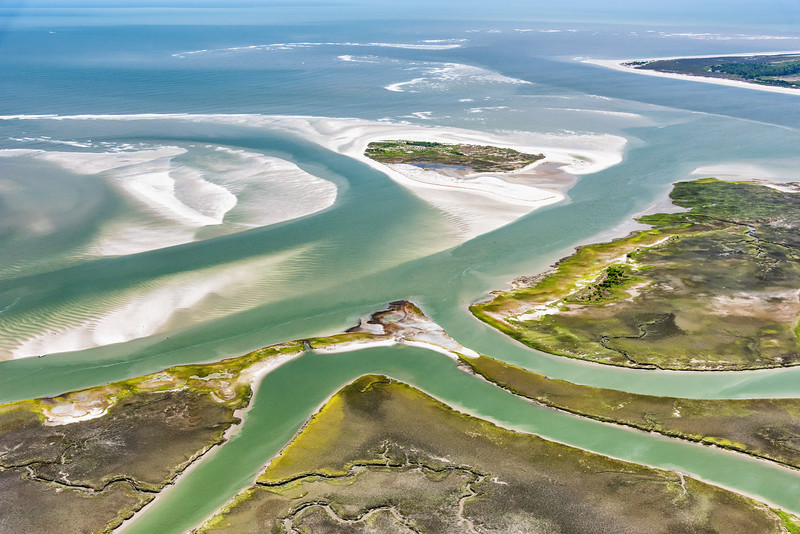 The Stono Inlet, Cole Creek, and Bird Key