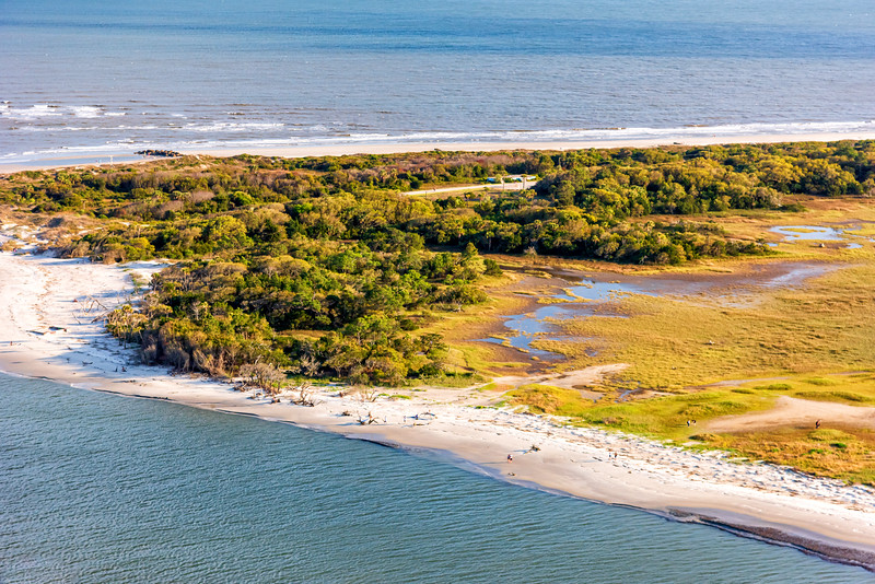Lighthouse Inlet Heritage Preserve, Folly Beach