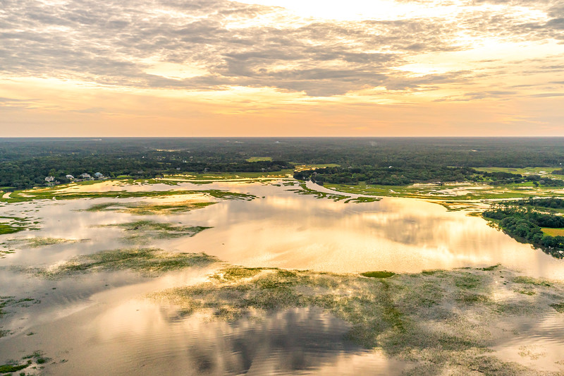 Flooded Marshes and Creeks, Wadmalaw Island